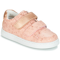 Shoes Girl Low top trainers Mod'8 OUPAPILLON Pink / Gold