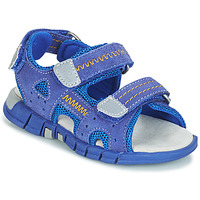 Shoes Boy Outdoor sandals Mod'8 TRIBATH Blue