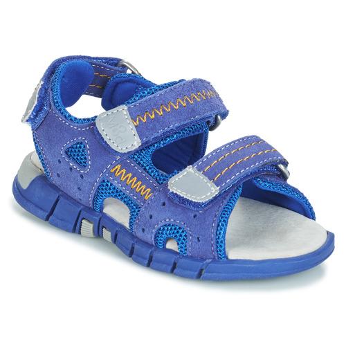 Shoes Boy Outdoor sandals Mod'8 TRIBATH Blue
