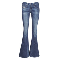 Clothing Women Bootcut jeans Diesel EBBEY Blue