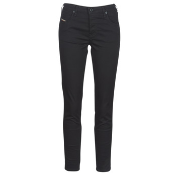Clothing Women Slim jeans Diesel BABHILA Black