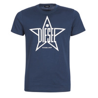 Clothing Men short-sleeved t-shirts Diesel T DIEGO YH Marine