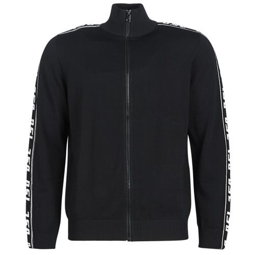 Clothing Men Jackets / Cardigans Diesel K KER A Black