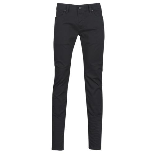 Clothing Men Skinny jeans Diesel SLEENKER Black