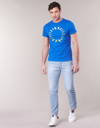 Clothing Men Straight jeans Diesel MHARKY Blue