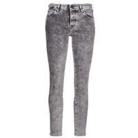 Clothing Women slim jeans Diesel BABHILA Grey