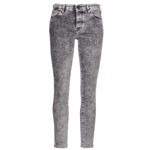 Clothing Women slim jeans Diesel BABHILA Grey