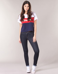 Clothing Women Skinny jeans Levi's 711 SKINNY To / Tea / Nine