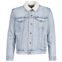 Clothing Men Denim jackets Levi's TYPE 3 SHERPA TRUCKER Sherpa / Trucker