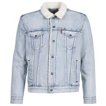 Clothing Men Denim jackets Levi's TYPE 3 SHERPA TRUCKER Sherpa / Trucker