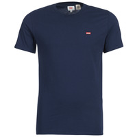 Clothing Men Short-sleeved t-shirts Levi's SS ORIGINAL HM TEE Marine
