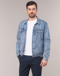 Clothing Men Denim jackets Levi's THE TRUCKER JACKET Wheat