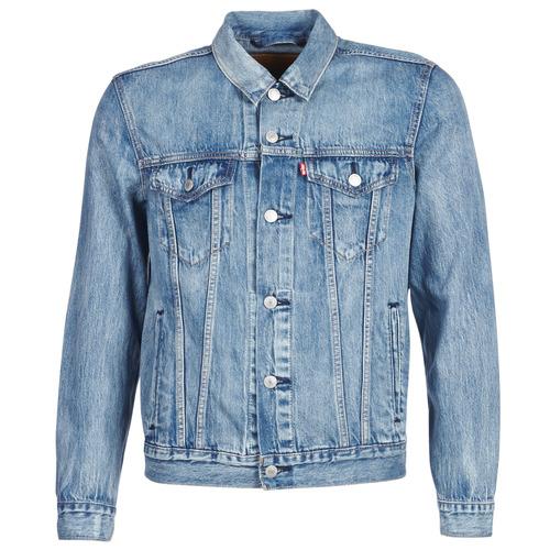 Clothing Men Denim jackets Levi's THE TRUCKER JACKET Trucker