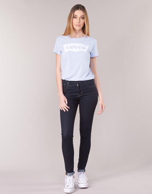 Clothing Women Skinny jeans Levi's 721 HIGH RISE SKINNY To / Tea / Nine