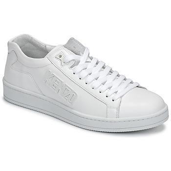 Shoes Men Low top trainers Kenzo TENNIX White