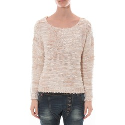 Clothing Women jumpers Nina Rocca Pull FDE La Passion 1537 Beige Beige