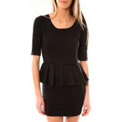 Clothing Women Short Dresses Tcqb Robe Moda Fashion Noir Black