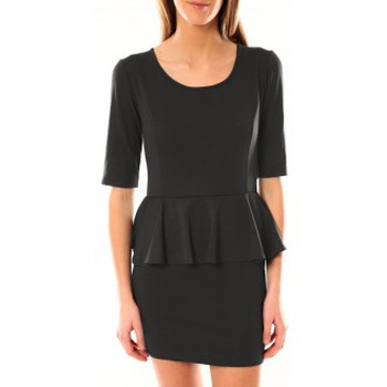 Clothing Women Short Dresses Tcqb Robe Moda Fashion Anthracite Grey