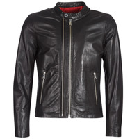 Clothing Men Leather jackets / Imitation leather Redskins KASE Black