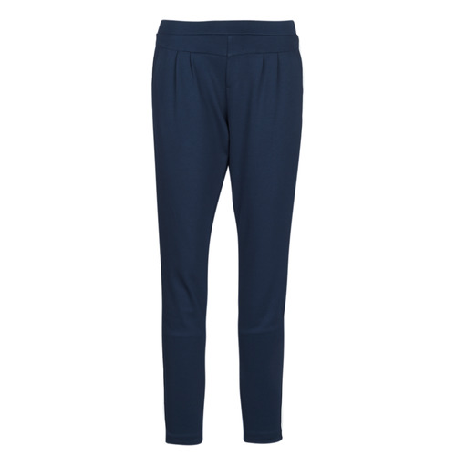 Clothing Women Formal trousers Cream BEATE PANTS Marine
