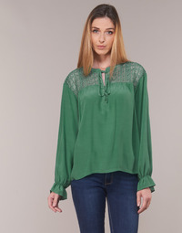 Clothing Women Tops / Blouses Cream MILANIE Green