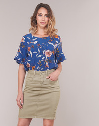 Clothing Women Tops / Blouses Cream ALLY Blue
