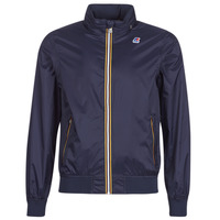 Clothing Men Jackets K-Way AMAURY Marine