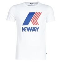 Clothing Men short-sleeved t-shirts K-Way PETE White