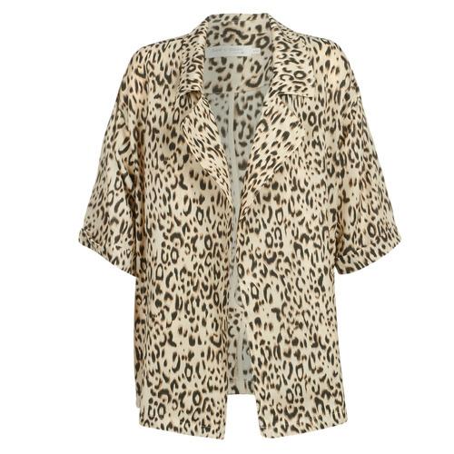 Clothing Women Trench coats See U Soon GARAGA Beige