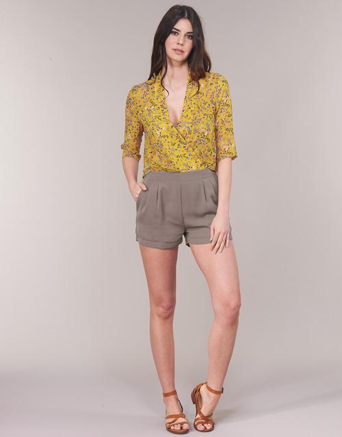 Clothing Women Jumpsuits / Dungarees See U Soon GARAGALE Yellow / Kaki