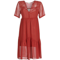 Clothing Women Short Dresses See U Soon GARAGACE Red