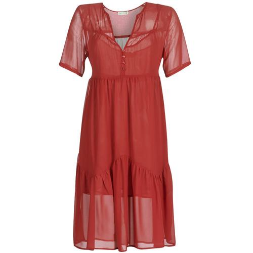 Clothing Women Short Dresses See U Soon GARAGACE Red
