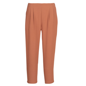 Clothing Women Wide leg / Harem trousers See U Soon GARAGACI Ocre tan