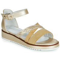 Shoes Women Sandals Regard RIKAZA V4 ANTE KAKI Gold