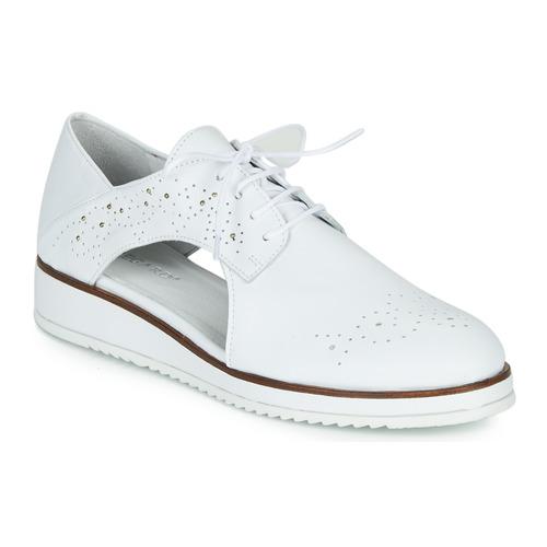 Shoes Women Derby Shoes Regard RIXAMU V1 NAPPA BLANC White