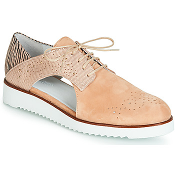 Shoes Women Derby Shoes Regard RIXULO V1 VEL ROSE Pink
