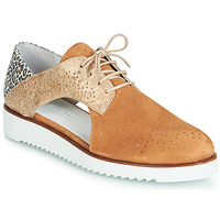 Shoes Women Derby Shoes Regard RIXULO V3 VEL CAMEL Brown
