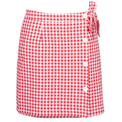 Clothing Women Skirts Betty London KRAKAV Red / White