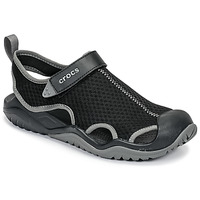 Shoes Men Outdoor sandals Crocs SWIFTWATER MESH DECK SANDAL M Black