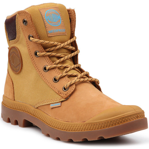 Shoes Women Mid boots Palladium Pampa Sport Cuff WPN 73234-228-M yellow