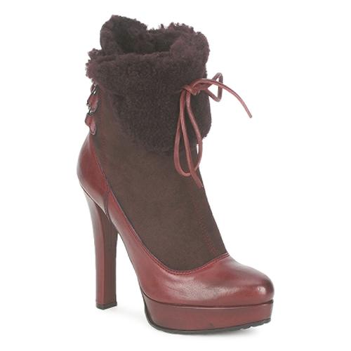 Shoes Women Ankle boots Sebastian ELIATY Bordeaux