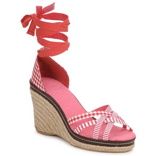 Shoes Women Sandals StylistClick ANGELA Red