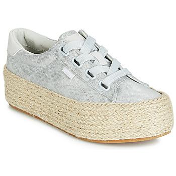 Shoes Women Low top trainers MTNG WANDA Silver
