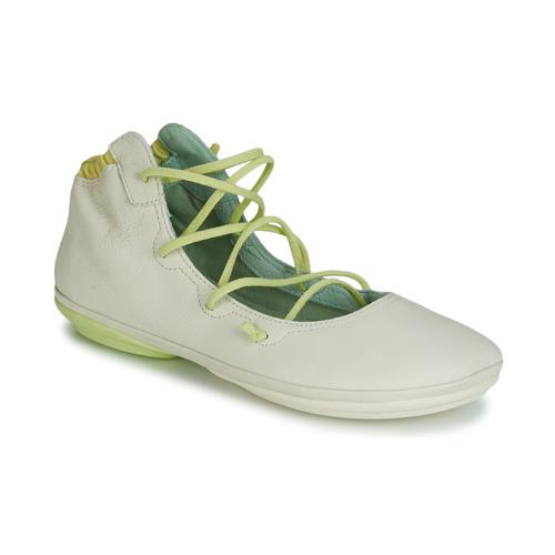 Shoes Women Flat shoes Camper RIGHT NINA LACE Beige