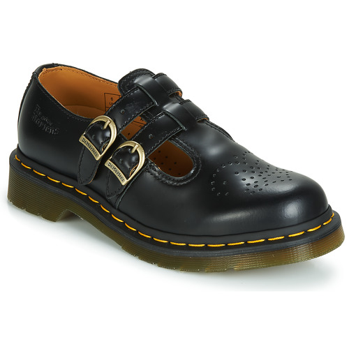Shoes Women Derby Shoes Dr Martens 8066 Mary Jane Black