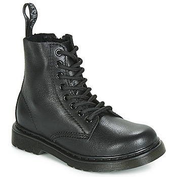 Shoes Children Mid boots Dr Martens 1461 Pascal Mono J Black