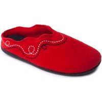 Shoes Women Slippers Padders Aspen Womens Mule Slippers red