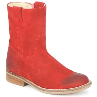 Shoes Girl Mid boots Hip DIRAN Red