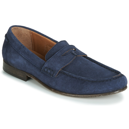 Shoes Men Loafers Hudson SEINE Blue