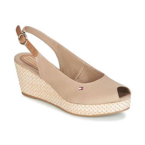 Shoes Women Sandals Tommy Hilfiger ELBA 39D2 Beige